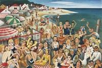 hollywood's malibu beach by miguel covarrubias