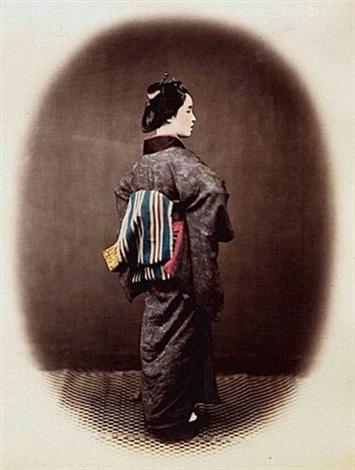 Geisha De Dos geisha vue de dosfelice beato on artnet