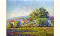 paysage pointilliste by pierre pignolat