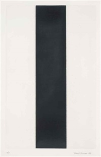 untitled by barnett newman
