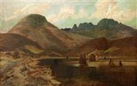 loch landscape by james guthrie