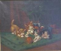 les chatons by léon charles huber