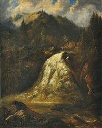 horský vodopád by ferdinand lepie
