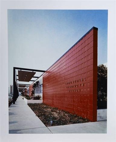 lusine firestone architectes pereira luckman associates los angeles californie by julius shulman