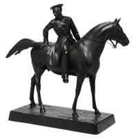 a mounted officer by baron petr karlovich klodt von jurgensburg