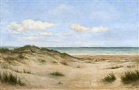 cape cod dunes by louis ritter