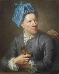 portrait d'homme à la tabatière by jan anton garemyn