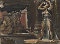 hudson burlesk by reginald marsh