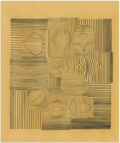 Dessin Geometrique By Victor Vasarely On Artnet