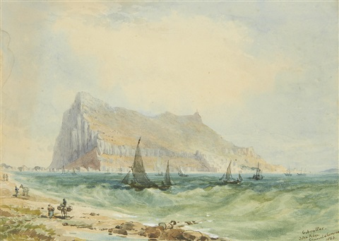 gibraltar by john miller general sir adye