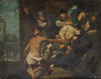 the mocking of christ by simon de vos