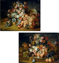 fiori e frutta (+ fiori e frutta; 2 works) by michele antonio rapous