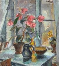 kukkia ikkunalaudalla by werner åström