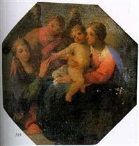 vierge à l'enfant by lubin baugin