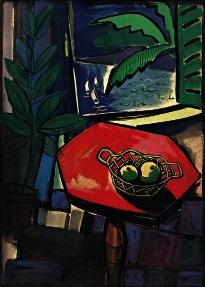 il tavolo rosso by adalberto campagnoli