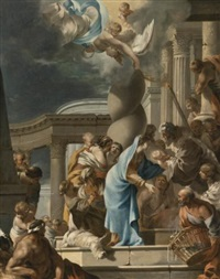 the presentation in the temple by sébastien bourdon