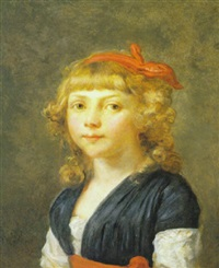 ritratto du fanciulla by jean françois gilles colson
