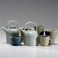 still life with teapots by gwyn hanssen pigott