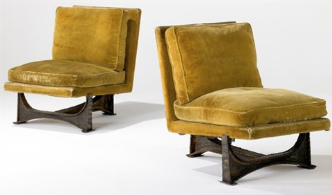 Lounge Chairs (pair) By Paul Evans