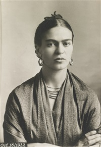 portrait of frida kahlo by guillermo kahlo