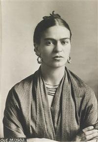portrait of frida kahlo by guillermo kahlo