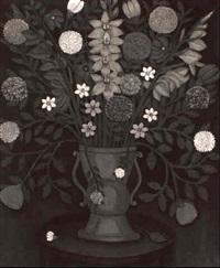 floral still life by samuel (kochmeister) koch