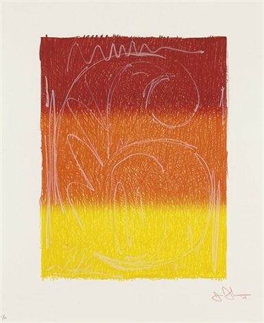 figure 6 from color numeral series by jasper johns