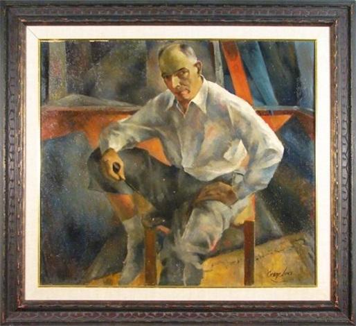 portrait of jack by george benjamin luks