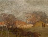 jesienny spacer by jerzy gnatowski