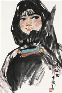 珠江女 (figure) by zhou bo