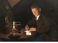 a letter to father by charles spencelayh
