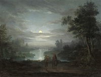 the rest on the flight into egypt by abraham pether