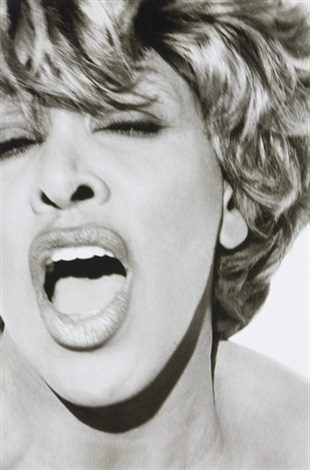 tina turner, los angeles by herb ritts