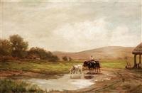 the farmyard by james aumonier