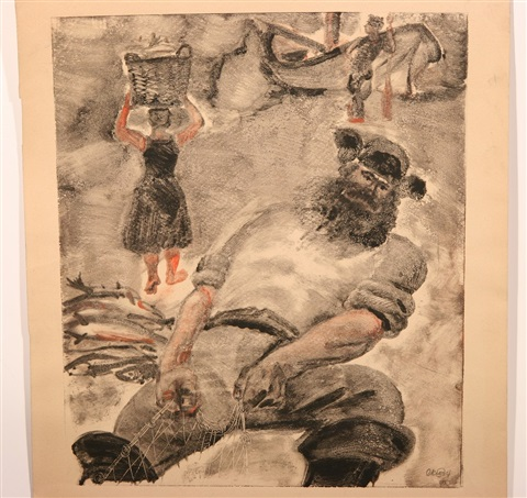 jewish fisherman by isaac kogan