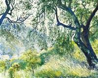 paysage by georges manzana-pissarro