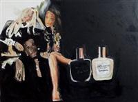 unforgivable woman, d'après une publicité pour un parfum de puff daddy by fabienne audeoud
