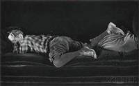 neil asleep by edward weston