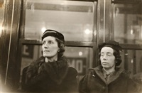 subway portrait, new york by walker evans