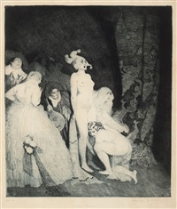 who comes? by norman alfred williams lindsay
