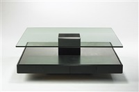 coffee table, model t147 by marco fantoni