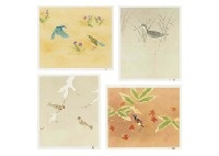 seasons of birds (portfolio of 4) by atsushi uemura