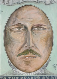 self-portrait by phillip hefferton