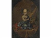 portrait de maria anna comtesse von globen by hans hinrich rundt
