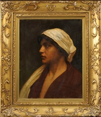mariana, head of a peasant woman by william sartain
