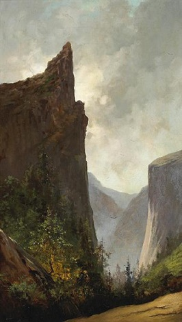 sentinel rock and el capitan by jules tavernier