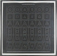 geometric figures within geometric figures, plate 6 by sol lewitt