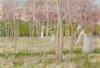 le bois aux jonquilles by maurice denis