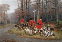 ecoutant les chiens d'attaque by jules bertrand gélibert