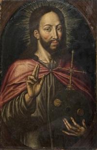 le christ bénissant by ambrosius benson